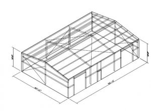 how much does a 40x60 metal building cost?