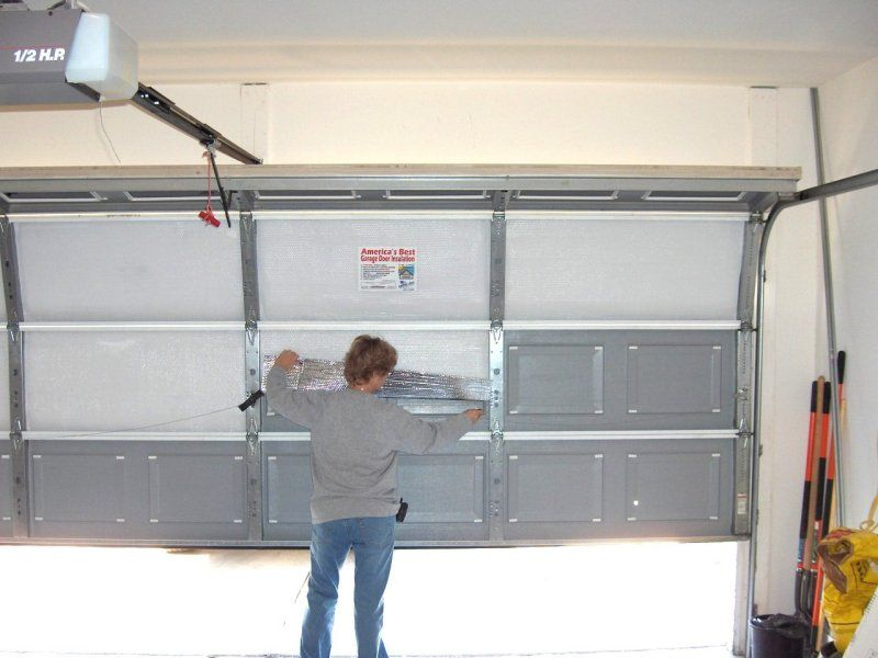 Garage Door Insulation Kits