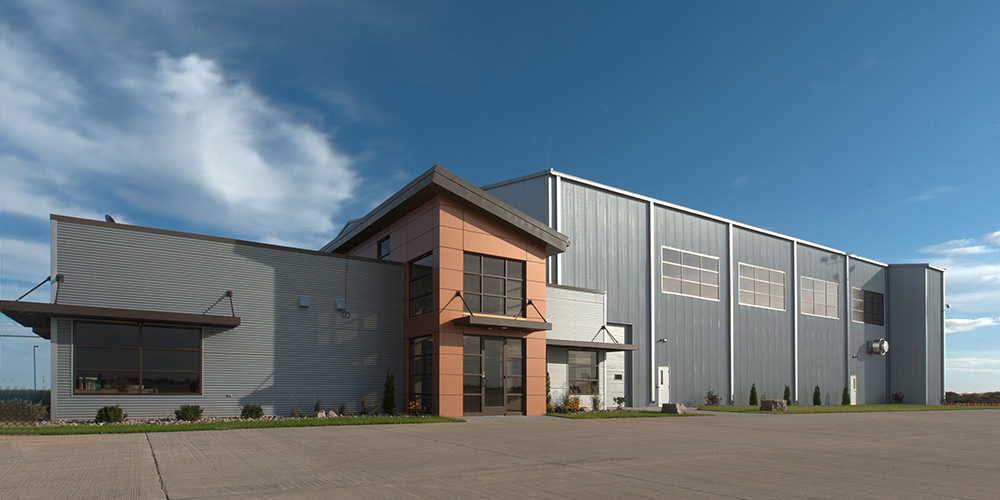 Industrial Building by Kirby