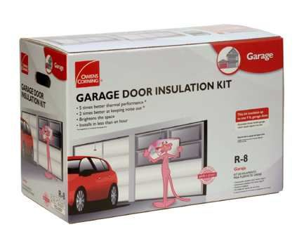 Owens Corning Garage Door Insulation Kit