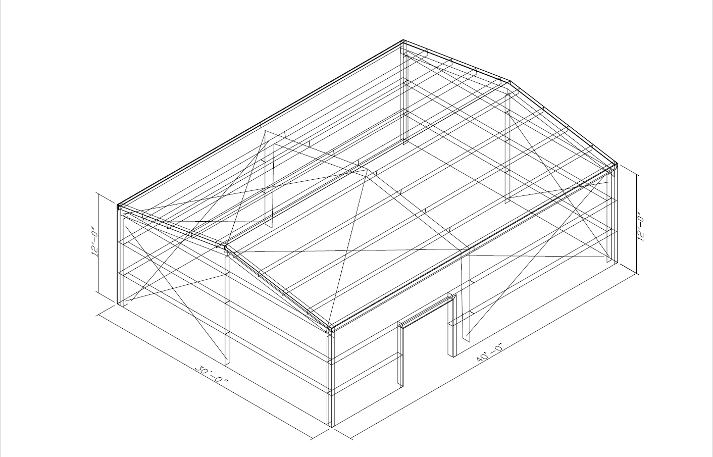 How Much Does A 30x40 Metal Building Cost Metalbuildings Org