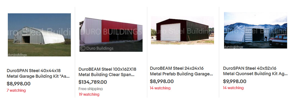 Durospan Buildings For Sale