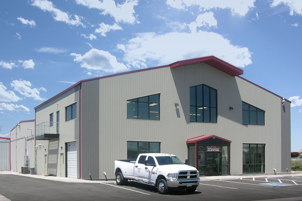 Commercial & Retail Metal Buildings