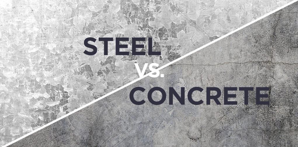 Steel vs Concrete for large buildings