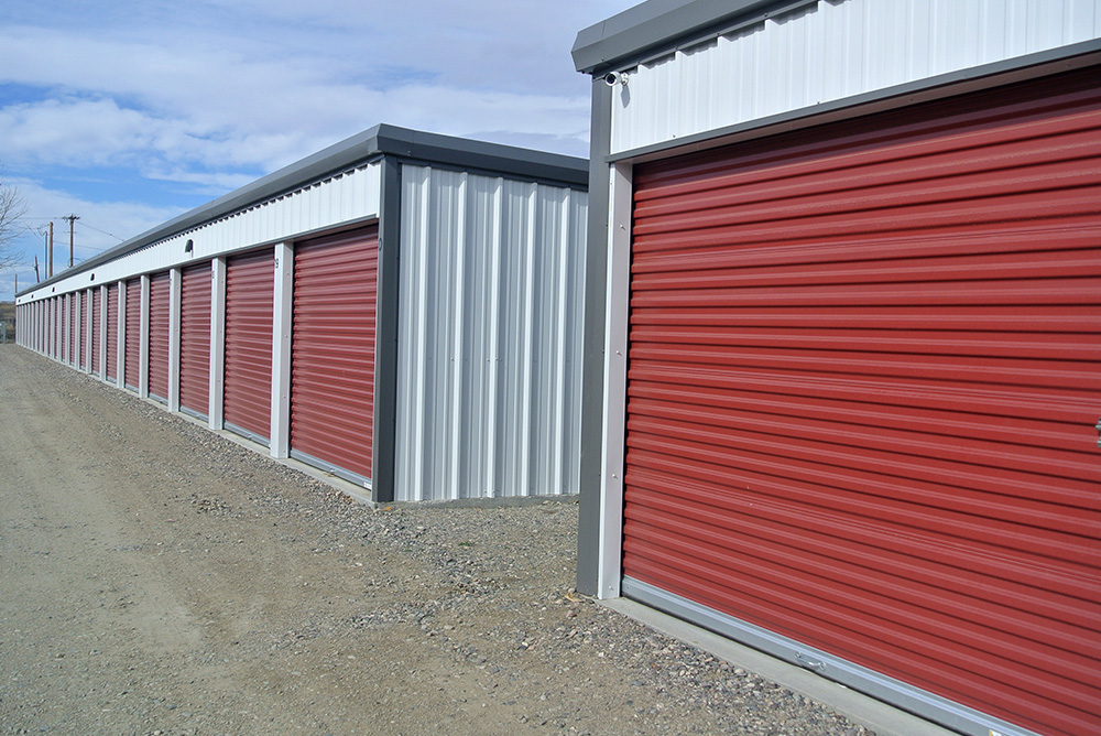 Self Storage Buildings by Sunward Steel