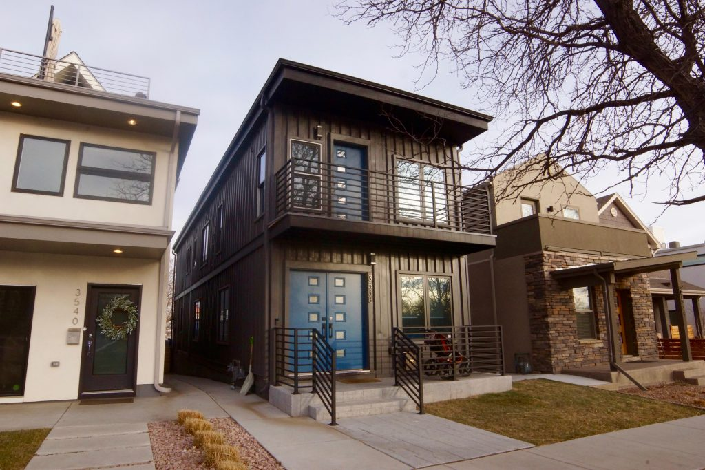 Container House in Denver