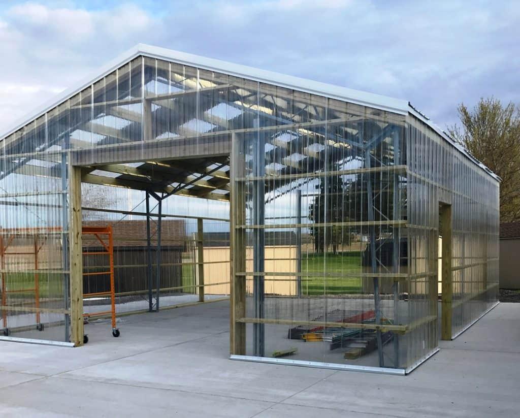 WorldWide Steel Commercial Greenhouse Kit