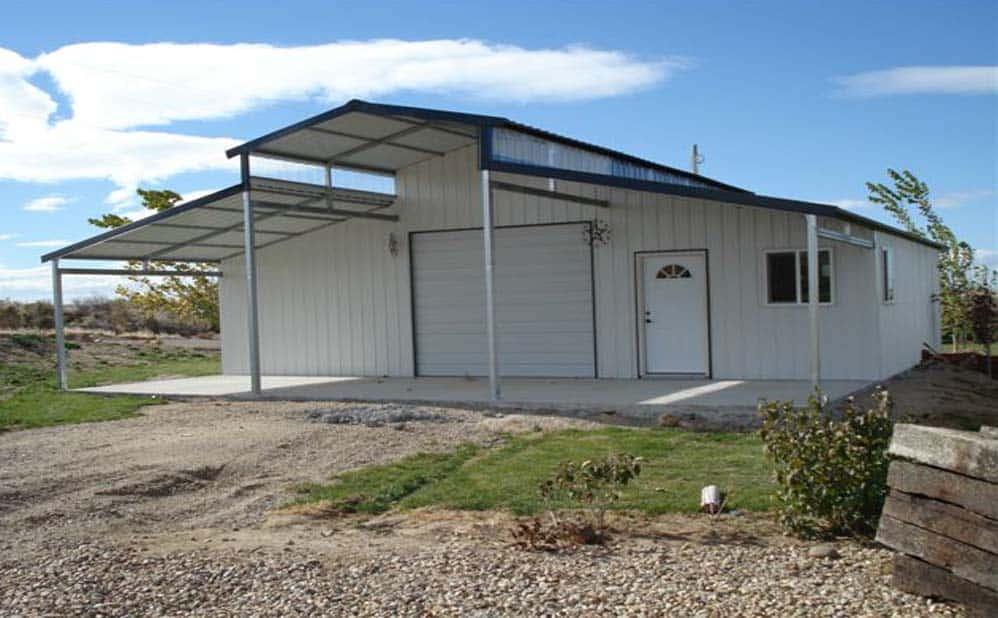 versatube frontier steel garage kit