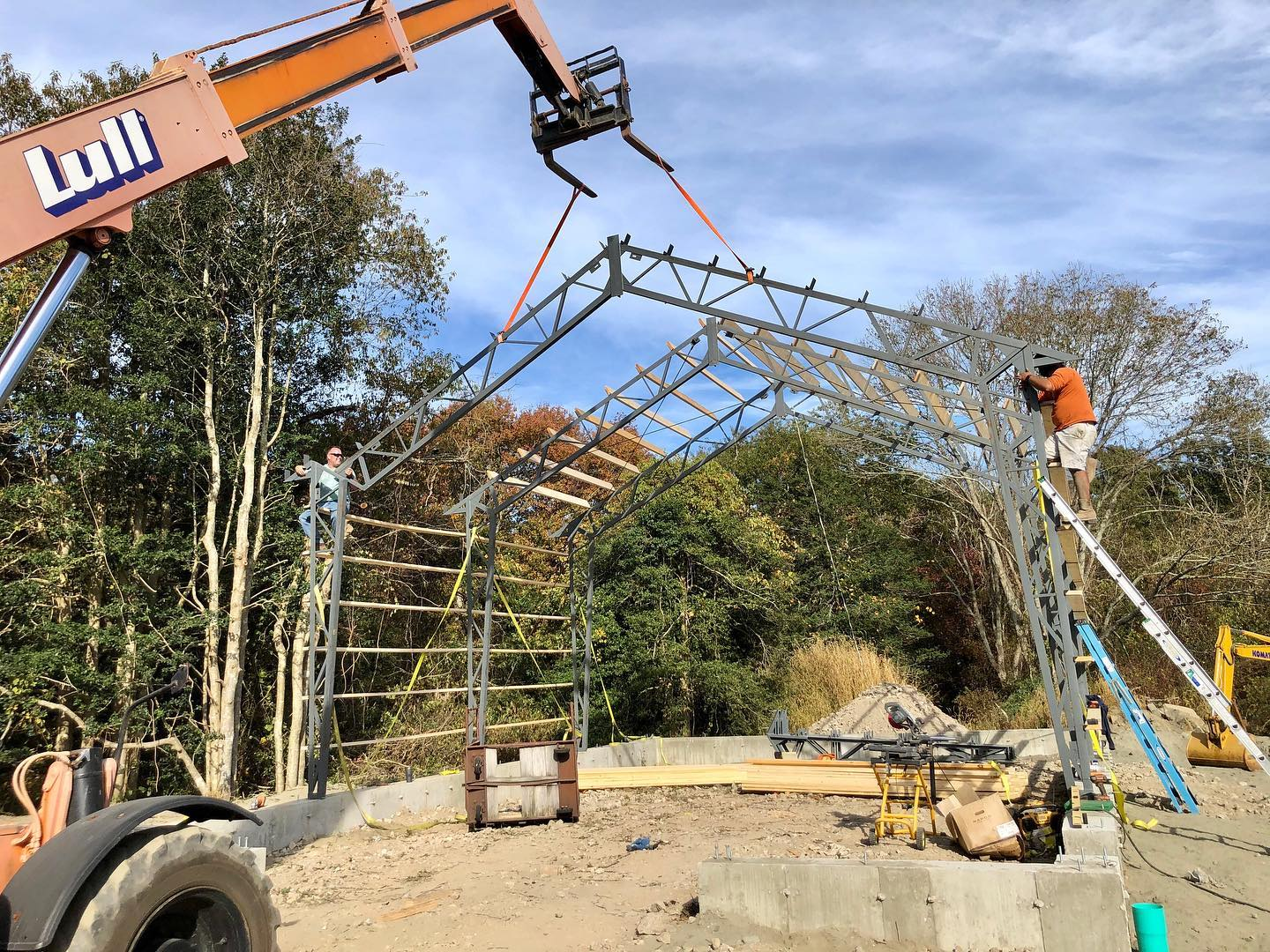 Metal Buidling Trusses by Miracle Truss