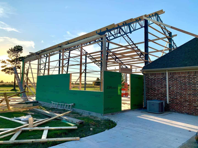 steel truss buildings
